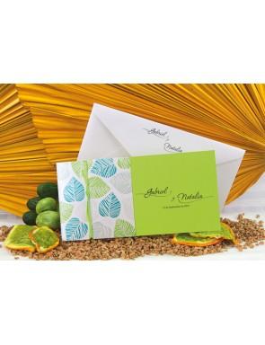 Invitación verde LIMA con...