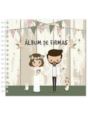 """NUEVO ALBUM DE FIRMAS """"NOVIOS"""""""